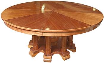 Expanding Round Table. Construction Blog Index